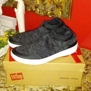 Ladies Fitflop Uberknit Slip-On Sneakers